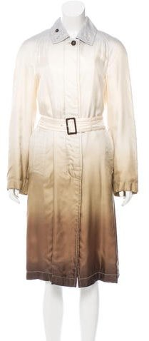 pradaPrada Silk Ombré Coat