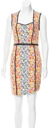 Yigal Azrouel Sleeveless Printed Sheath Dress w/ Tags