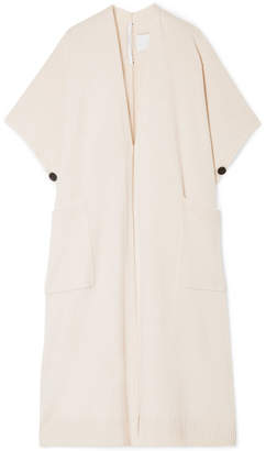 Rosetta Getty Convertible Cashmere Cape - Cream
