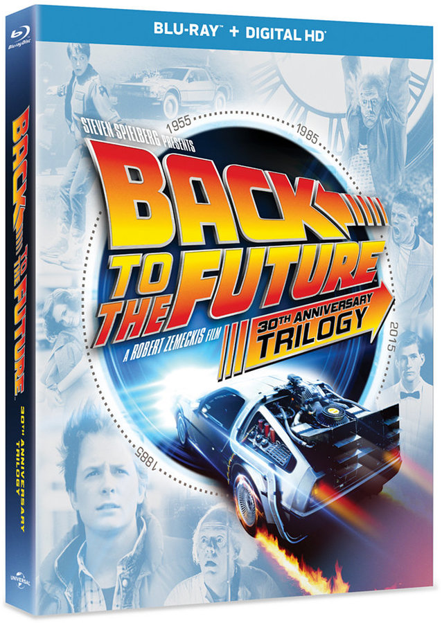 Universal Studios Back to the Future Trilogy Blu-ray DVD Set