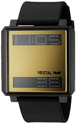 Vestal 'Transom' Quartz Stainless Steel and Polyurethane Casual Watch