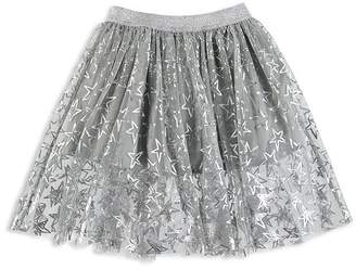 Stella McCartney Girls' Silver Star Skirt - Little Kid, Big Kid