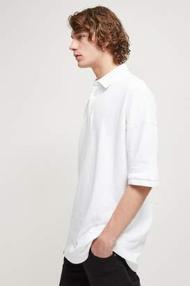French Connenction Oversized Polo Shirt