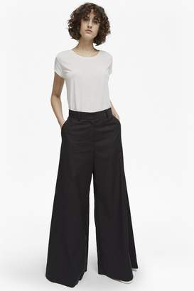 French Connection Ria Cotton Flare Trousers