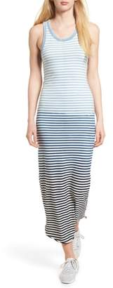AG Jeans Cicely Stripe Maxi Tank Dress