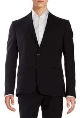 Roberto Cavalli Classic Fit Virgin Wool Sportcoat