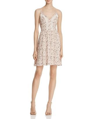 AQUA Floral Cami Crochet Dress - 100% Exclusive $68 thestylecure.com