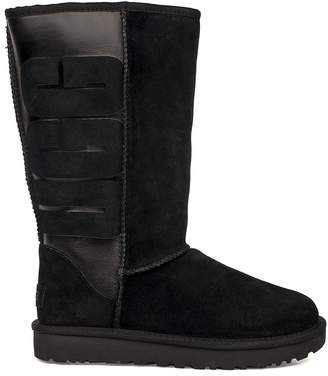 UGG Black Classic Tall Rubber Boot