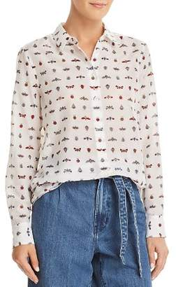 Equipment Essential Insect-Print Shirt