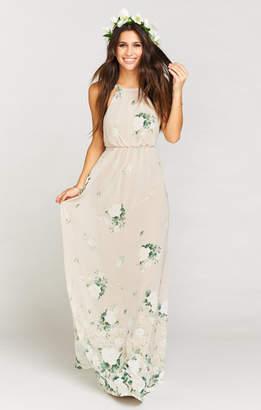 Show Me Your Mumu Amanda Maxi Dress ~ Bouquet Toss