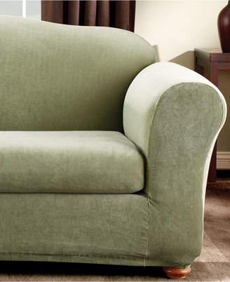 Sure Fit Stretch Stripe 2-Piece Sofa Slipcover