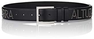 Altuzarra Women's Logo-Studded Leather Belt
