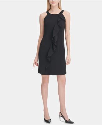 9a1d2691e9e Calvin Klein Black Halter Dresses - ShopStyle