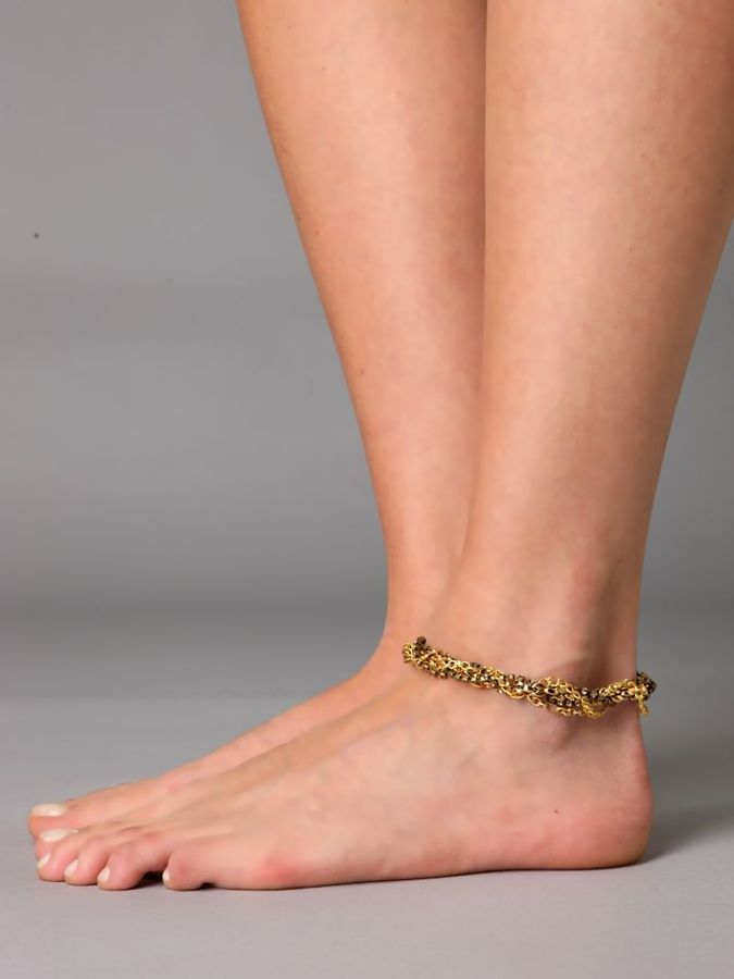 Twisted Chain Ankle Wrap