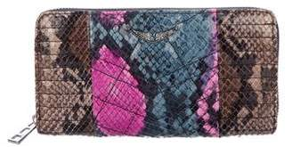 Zadig & Voltaire ZV Quilted Leather Wallet