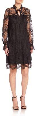 Elie Tahari Dara Lace Dress $548 thestylecure.com