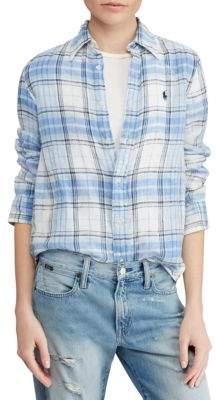 Polo Ralph Lauren Plaid Button-Front Shirt