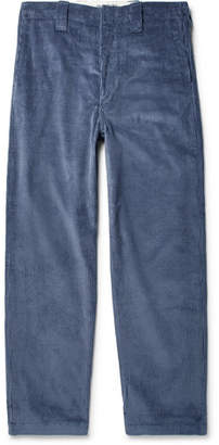 Acne Studios Wide-Leg Cotton-Corduroy Trousers