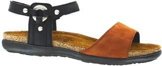 Naot Footwear Women's Naot, Sabrina Sandal BLACK COGNAC 3.8 M
