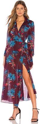 Diane von Furstenberg Collared Wrap Dress