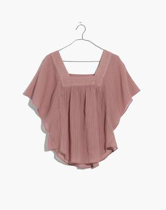 Madewell Butterfly Top in Irving Stripe