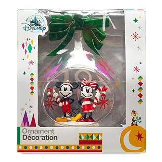 Disney Disney's Mouse Holiday Glass Drop Sketchbook Ornament -- 2018 Edition