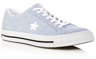 Converse Men's One Star Suede Lace Up Sneakers