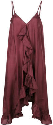 Mes Demoiselles ruffle front sleeveless dress