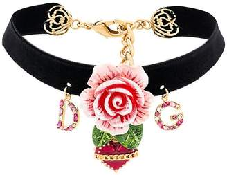 Dolce & Gabbana floral choker