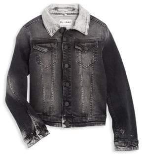 DL Premium Denim Little Boy's& Boy's Manning Jean Jacket