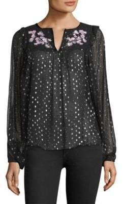 Parker Star-Embellished Boho Blouse