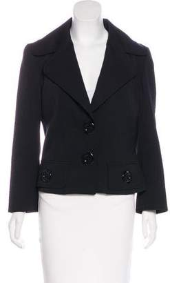 Dolce & Gabbana Virgin Wool Structured Blazer