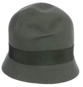 Ralph Lauren Bow-Accented Felt Hat Bow-Accented Felt Hat