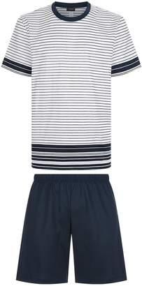 Hanro Stripe T-Shirt Pyjama Set