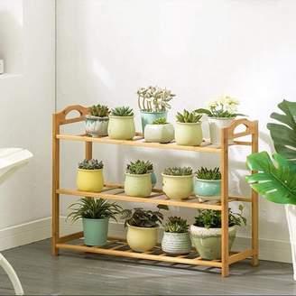 Magshion Shelf Rack Bathroom Kitchen Storage Shelf Plant Stand Bookcase 3 Tier
