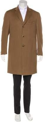 Isaia Ross CP Tasch Wool Coat
