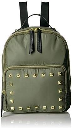 T-Shirt & Jeans Nylon Back Pack with Studs