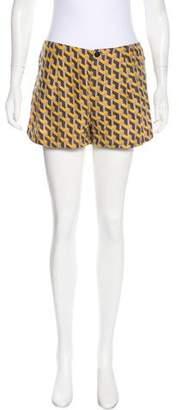 Rag & Bone Silk Patterned Shorts