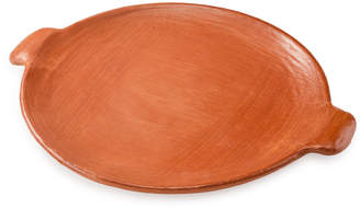 St. Frank Red Clay Flat Platter