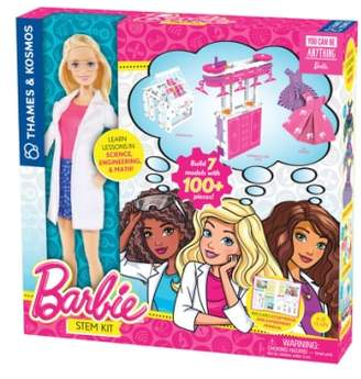 Thames & Kosmos Barbie(R) STEM Kit & Doll Set