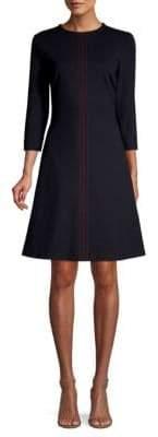 Escada Sport Stitch Detailed Jersey Dress