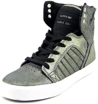 Supra Skytop Youth US 4.5 Silver Sneakers
