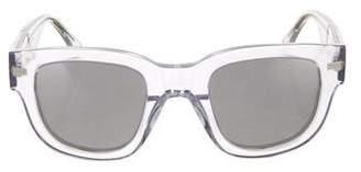 Acne Studios Mirrored Square Sunglasses