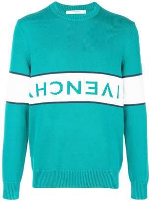 Givenchy upside-down logo jumper