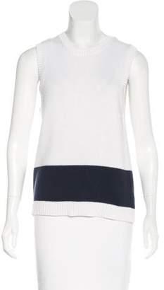 Jenni Kayne Sleeveless Colorblock Sweater