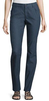 Lafayette 148 New York Thompson Snake-Print Pants $268 thestylecure.com