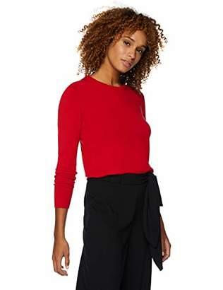 faebc632c7184e Lark & Ro Amazon Brand Women's Long Sleeve Crewneck Sweater