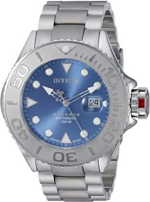 Invicta Men's 'Grand Diver' Automatic Stainless Steel and Titanium Plated Casual Watch, Color:Grey (Model: 22860)