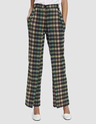 Aalto Folded Plaid Trouser