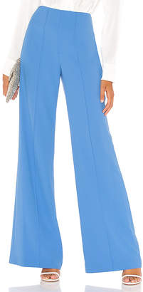 Alice + Olivia Dylan Clean Highwaist Wide Leg Pant